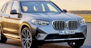 يرفع BMW X3 و X4 الشبك الأمامي