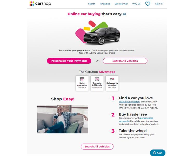 تقوم Penske Automotive و Cox بتطوير منصة شراء عبر الإنترنت للسيارات المستعملة