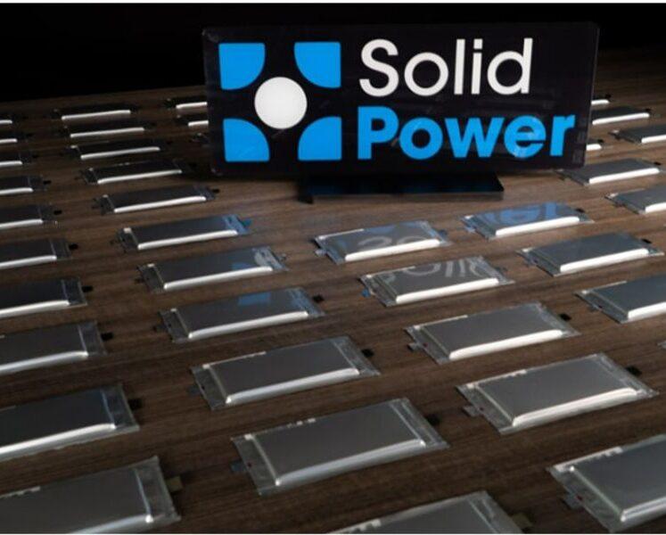 توسع شركة Solid Power المدعومة من فورد مصنعها لتعزيز إنتاج الخلايا