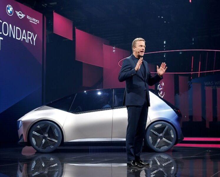 """يوضح الرئيس التنفيذي لشركة BMW مفهوم """"سيارة المستقبل المستدامة"""""""